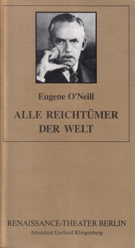 Alle Reichtümer der Welt. Spielzeit 1995 /: Berlin Renaissance -