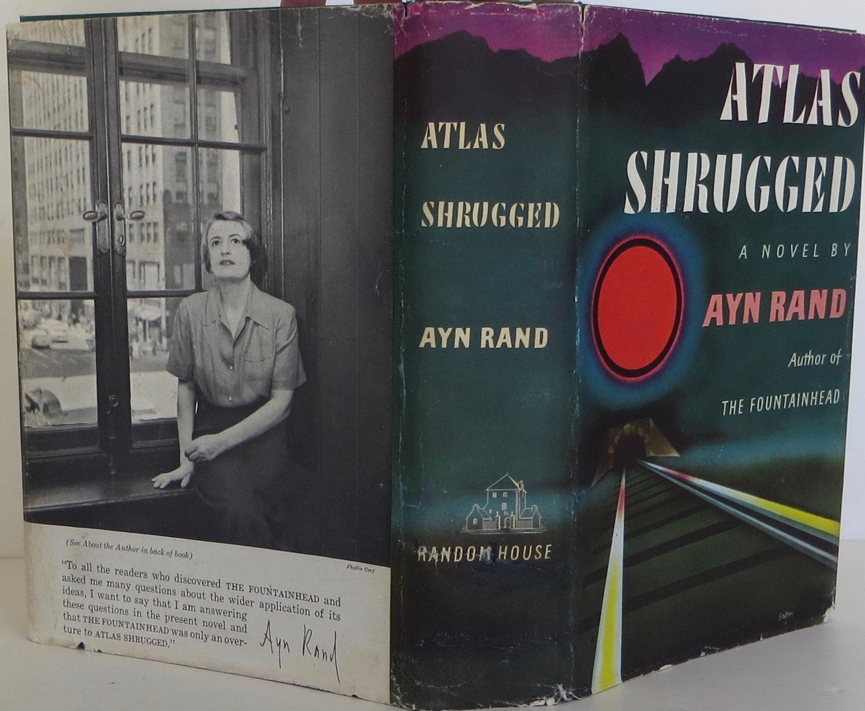 Ayn Rand / Atlas Shrugged First Edition 1957 #1908306   eBay