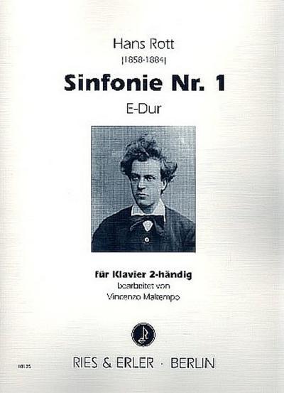 Sinfonie E-Dur Nr.1 für Orchesterfür Klavier: Hans Rott