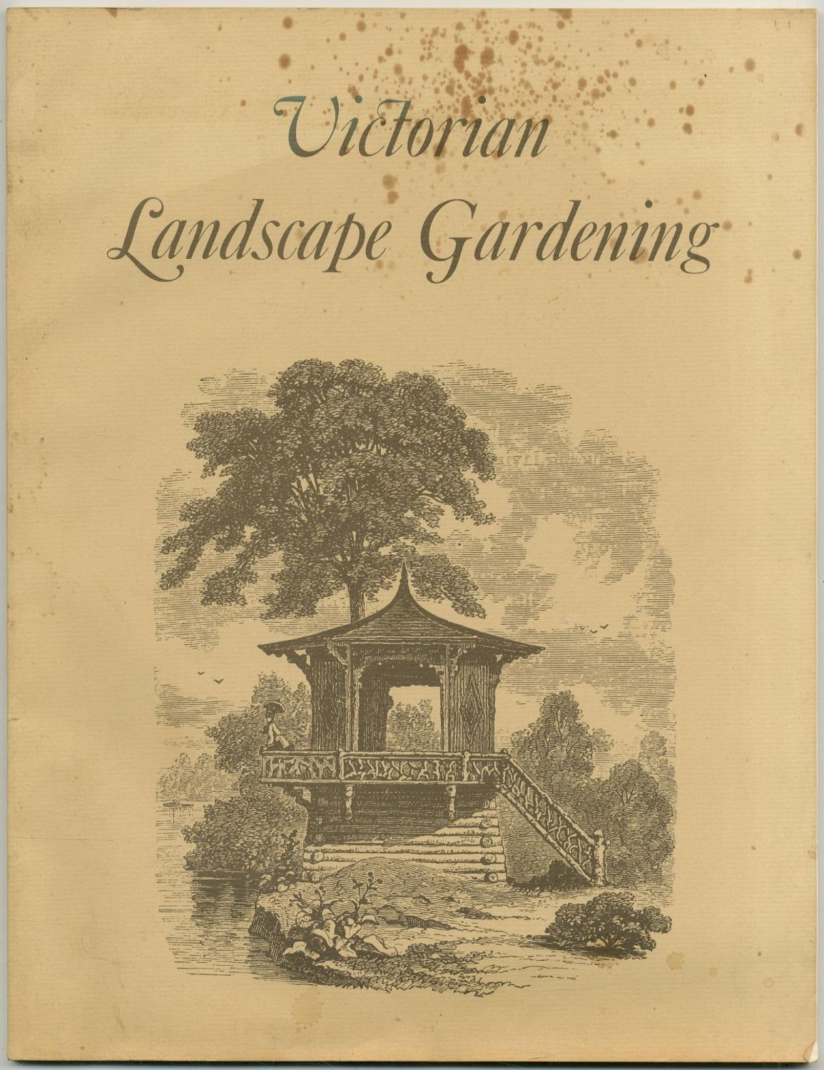 Victorian Landscape Gardening: A Facsimile of Jacob: WEIDENMANN, Jacob with