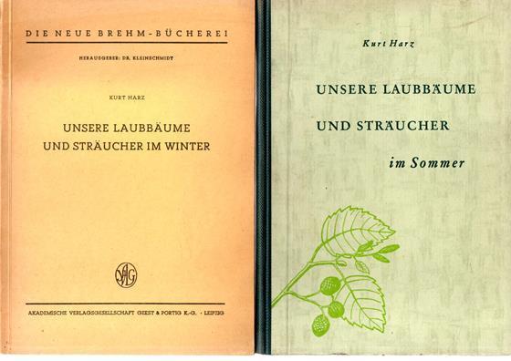 Unsere Laubbäume und Sträucher im Winter. +: Harz, Kurt