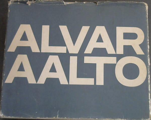 Alvar Aalto: Zurich,Girsberger.