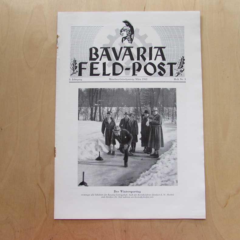 Bavaria Feld-Post (3. Jahrgang, Heft Nr. 3): Fellheimer, M. J.