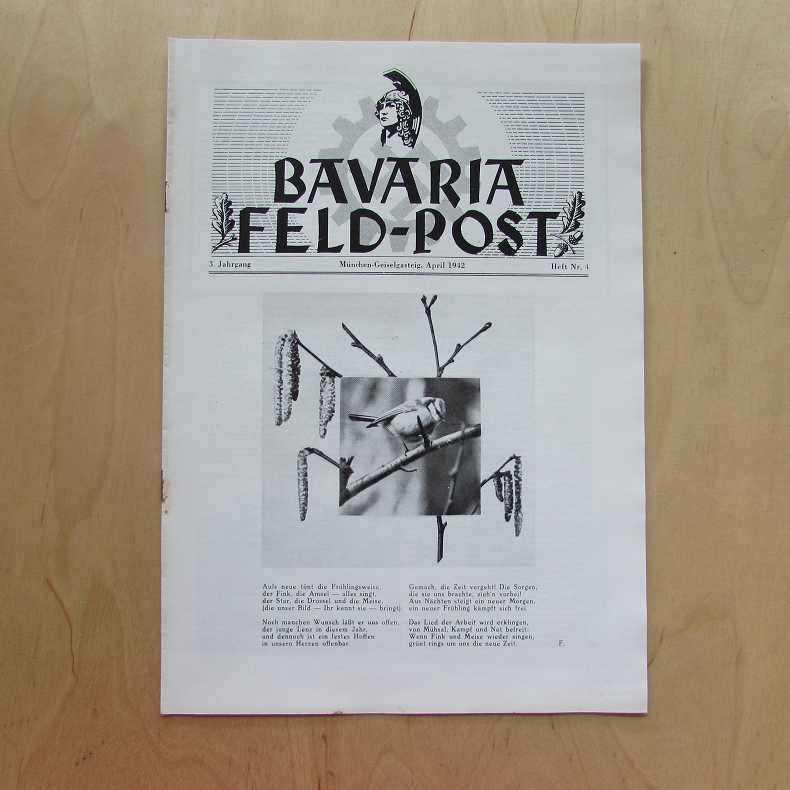 Bavaria Feld-Post (3. Jahrgang, Heft Nr. 4): Fellheimer, M. J.