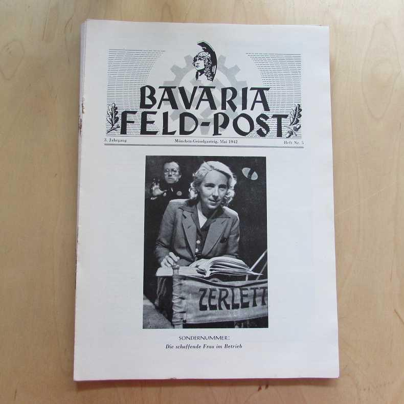 Bavaria Feld-Post (3. Jahrgang, Heft Nr. 5): Fellheimer, M. J.