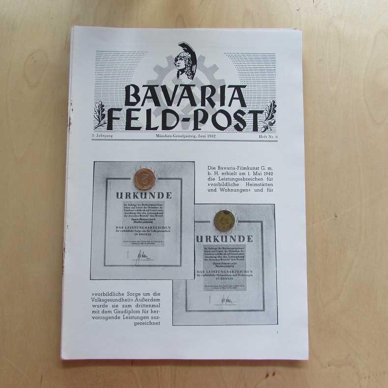 Bavaria Feld-Post (3. Jahrgang, Heft Nr. 6): Fellheimer, M. J.