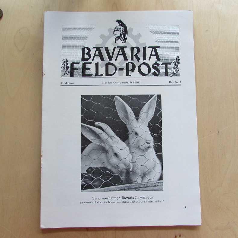 Bavaria Feld-Post (3. Jahrgang, Heft Nr. 7): Fellheimer, M. J.