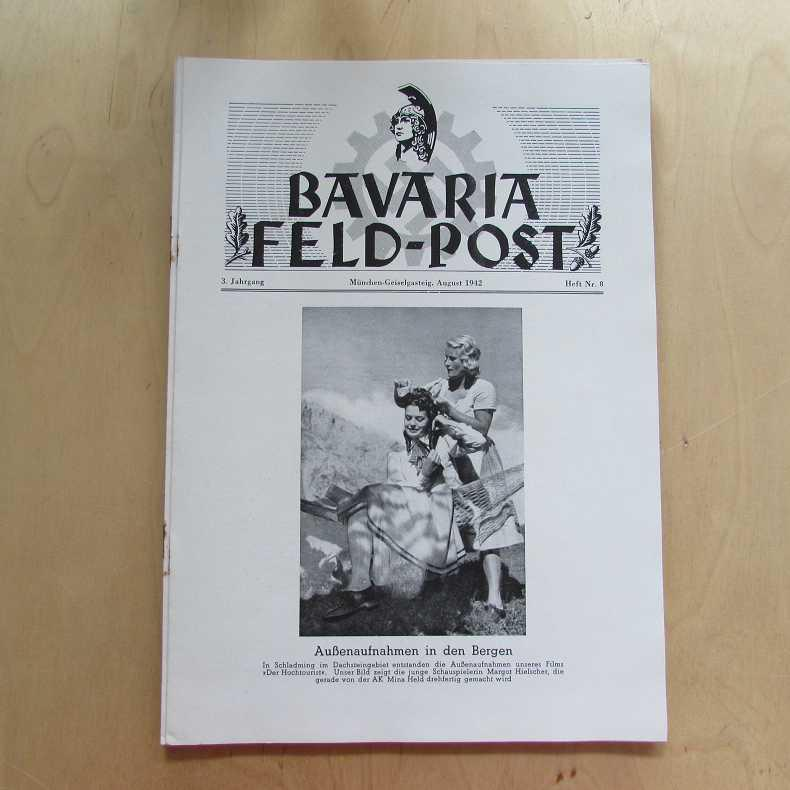 Bavaria Feld-Post (3. Jahrgang, Heft Nr. 8): Fellheimer, M. J.