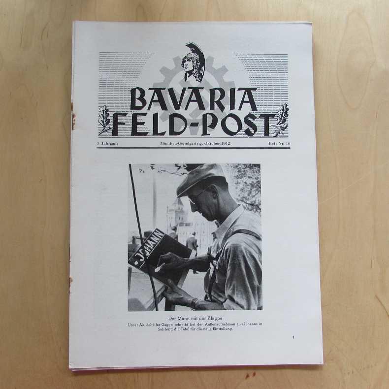 Bavaria Feld-Post (3. Jahrgang, Heft Nr. 10): Fellheimer, M. J.