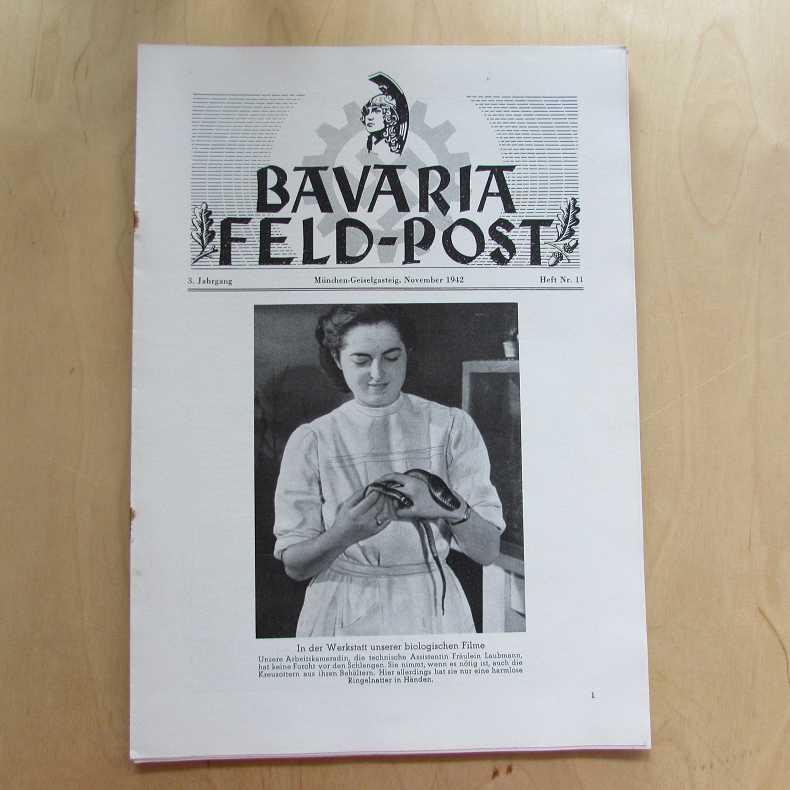 Bavaria Feld-Post (3. Jahrgang, Heft Nr. 11): Fellheimer, M. J.