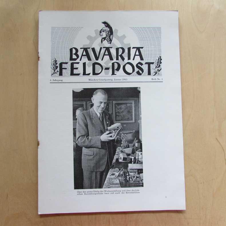 Bavaria Feld-Post (4. Jahrgang, Heft Nr. 1): Fellheimer, M. J.