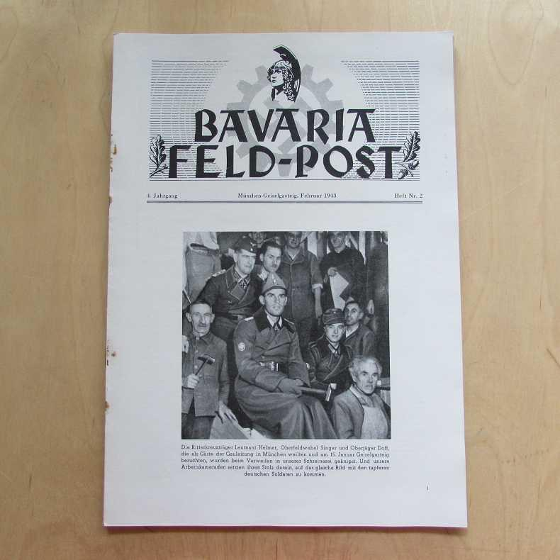 Bavaria Feld-Post (4. Jahrgang, Heft Nr. 2): Fellheimer, M. J.