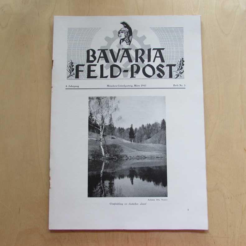 Bavaria Feld-Post (4. Jahrgang, Heft Nr. 3): Fellheimer, M. J.