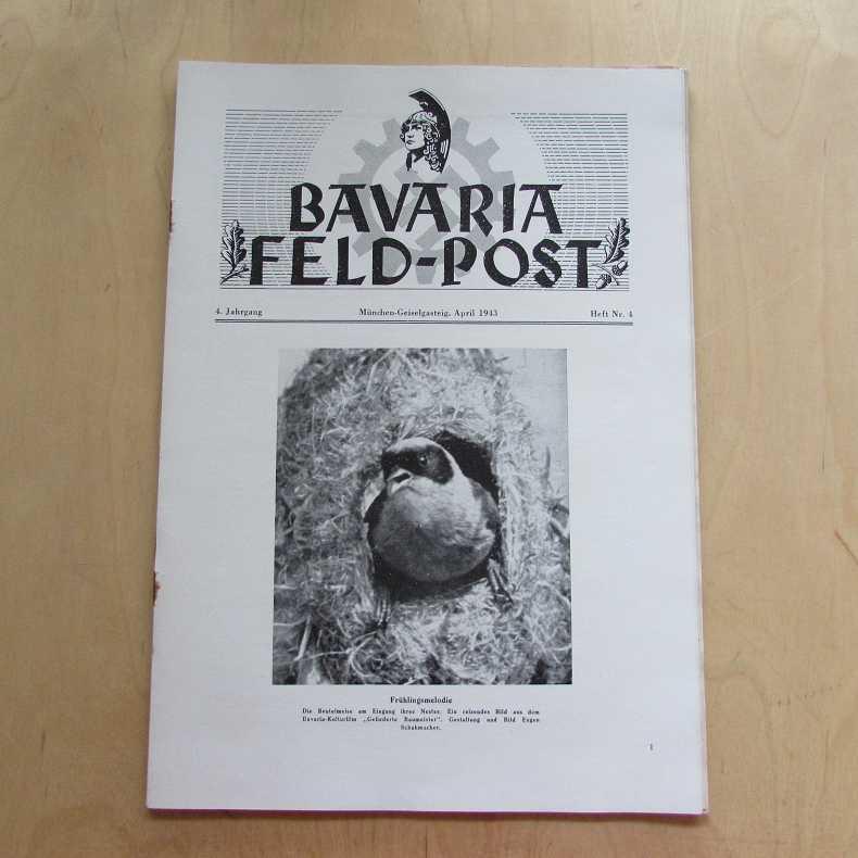 Bavaria Feld-Post (4. Jahrgang, Heft Nr. 4): Fellheimer, M. J.