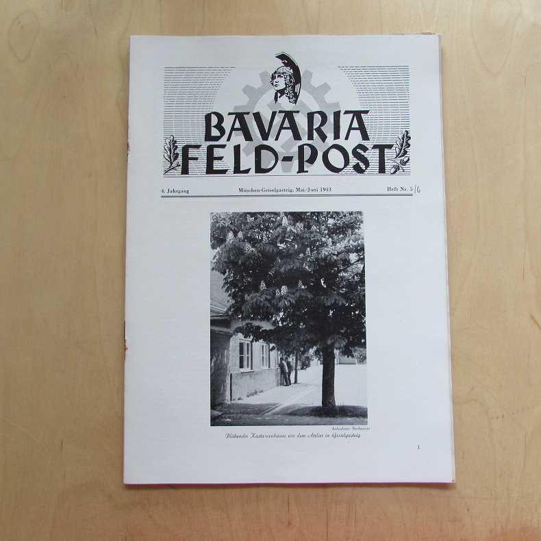 Bavaria Feld-Post (4. Jahrgang, Heft Nr. 5/6): Fellheimer, M. J.