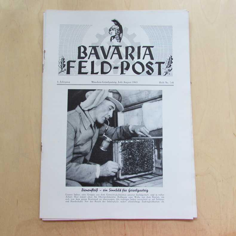 Bavaria Feld-Post (4. Jahrgang, Heft Nr. 7/8): Fellheimer, M. J.