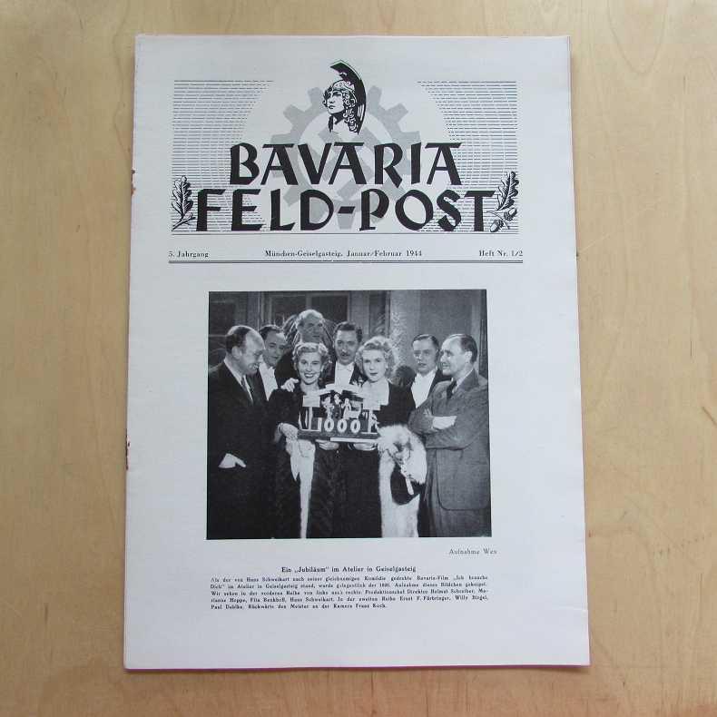 Bavaria Feld-Post (5. Jahrgang, Heft Nr. 1/2): Fellheimer, M. J.