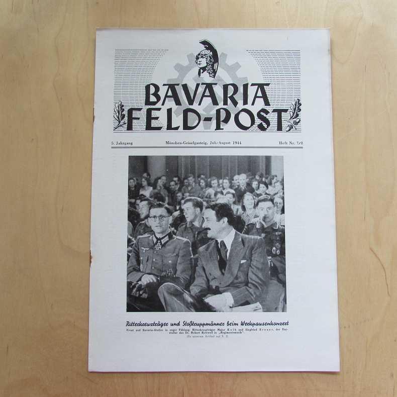 Bavaria Feld-Post (5. Jahrgang, Heft Nr. 7/8): Fellheimer, M. J.