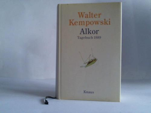 Alkor Tagebuch 1989: Kempowski, Walter