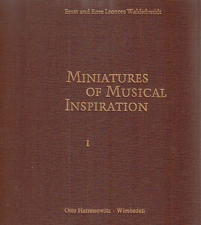 Miniatures of Musical Inspiration. In the Collection: Waldschmidt, Ernst und