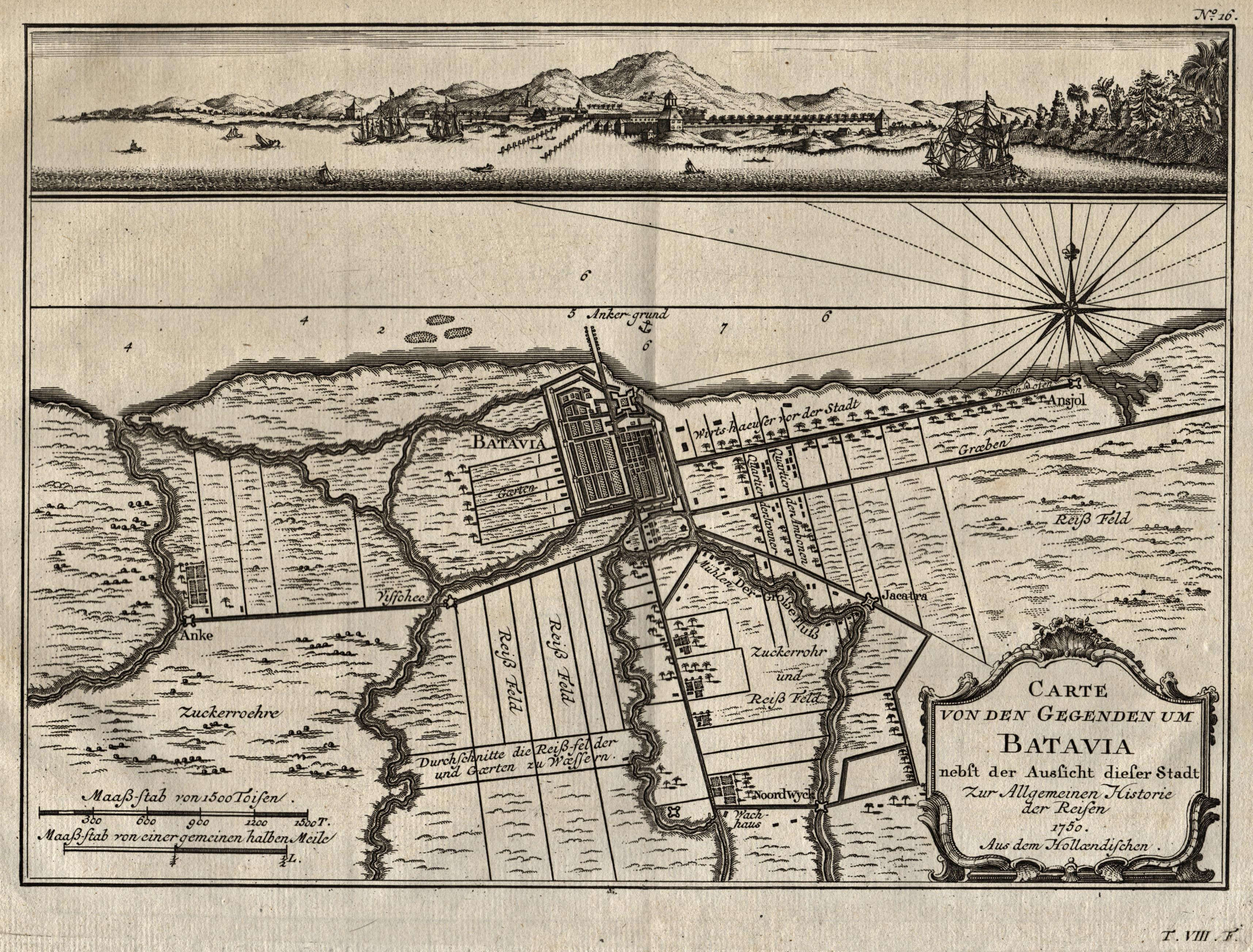 "Gesamtans., darunter Karte der nahen Umgebung, ""Carte: Indonesien ( Indonesia"