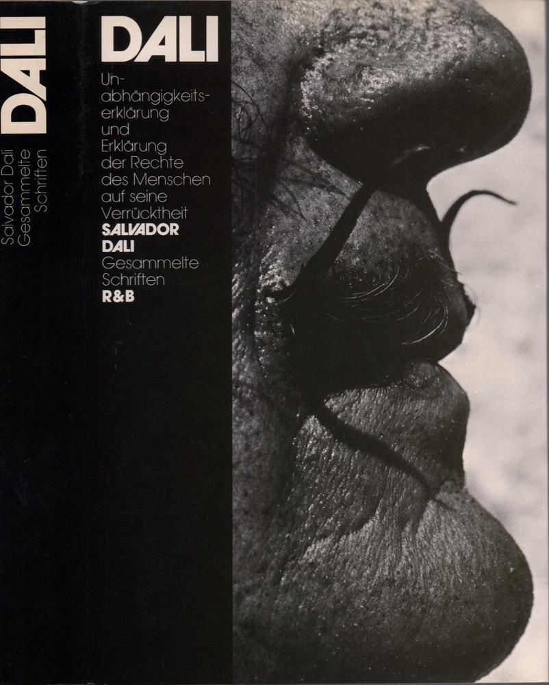 Unabhängigkeitserklärung der Phantasie und Erklärung der Rechte: Dalí, Salvador.