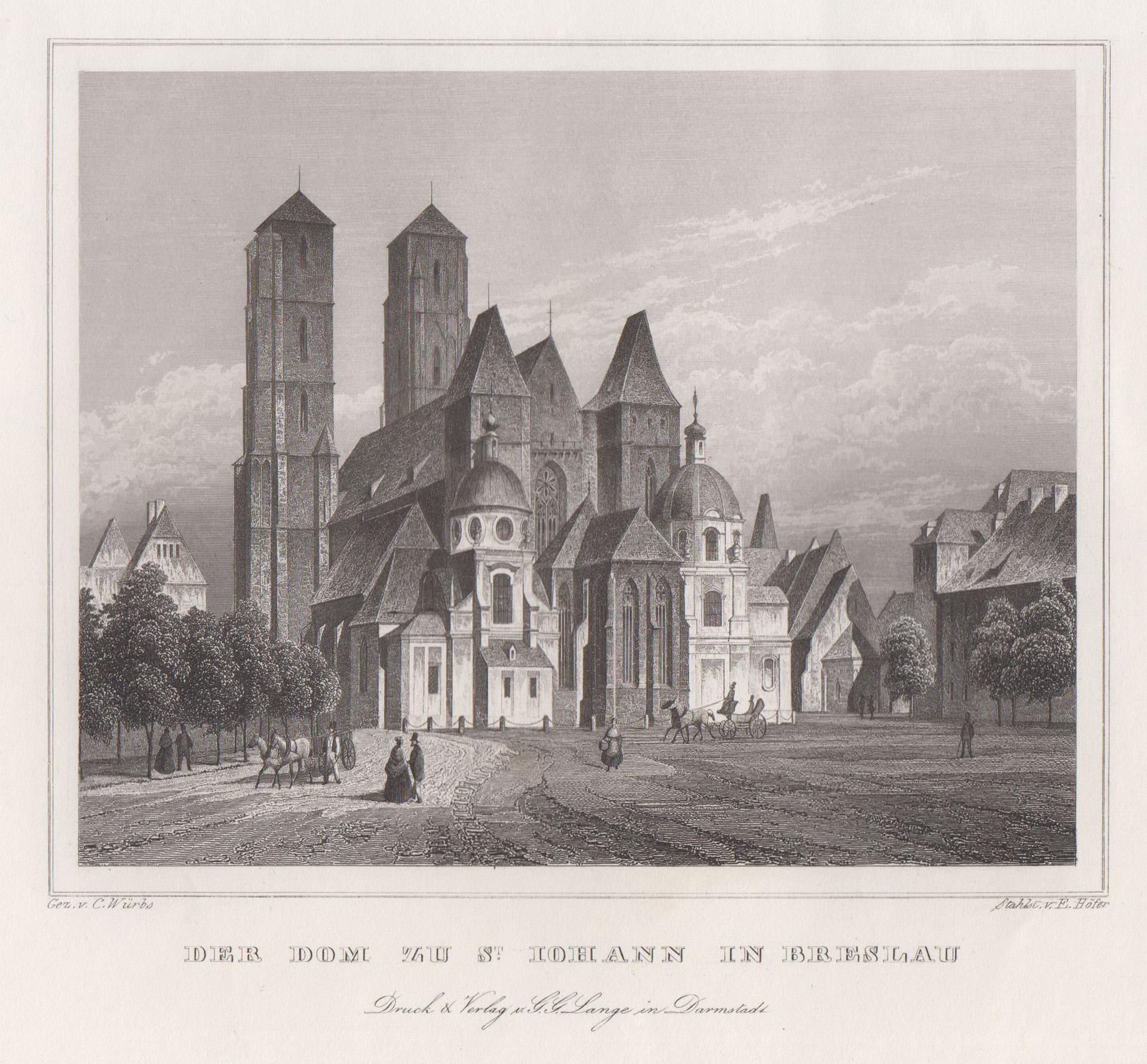 TA., Dom zu St. Johann.: Breslau ( Wroclaw