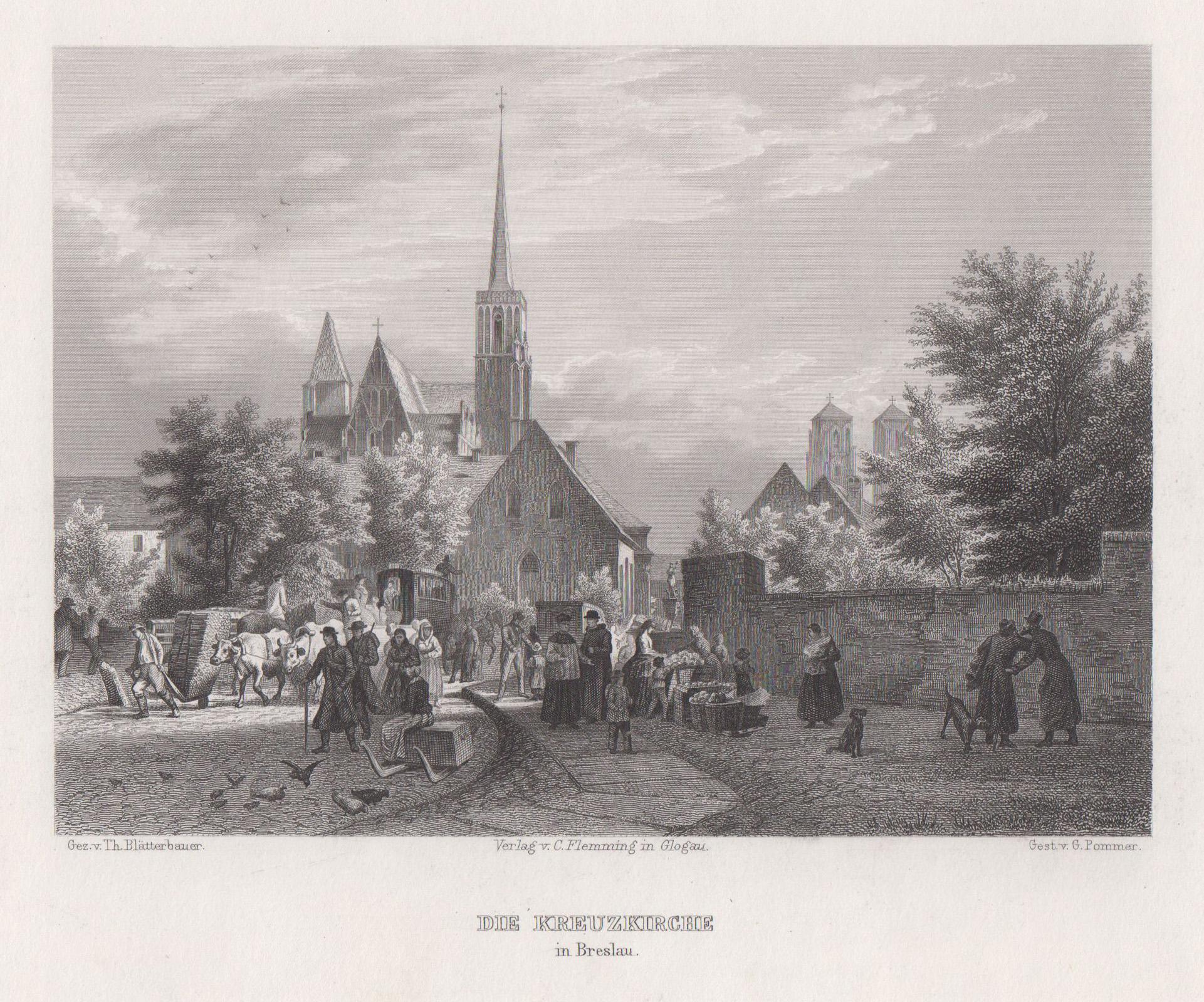 TA., Kreuzkirche.: Breslau ( Wroclaw