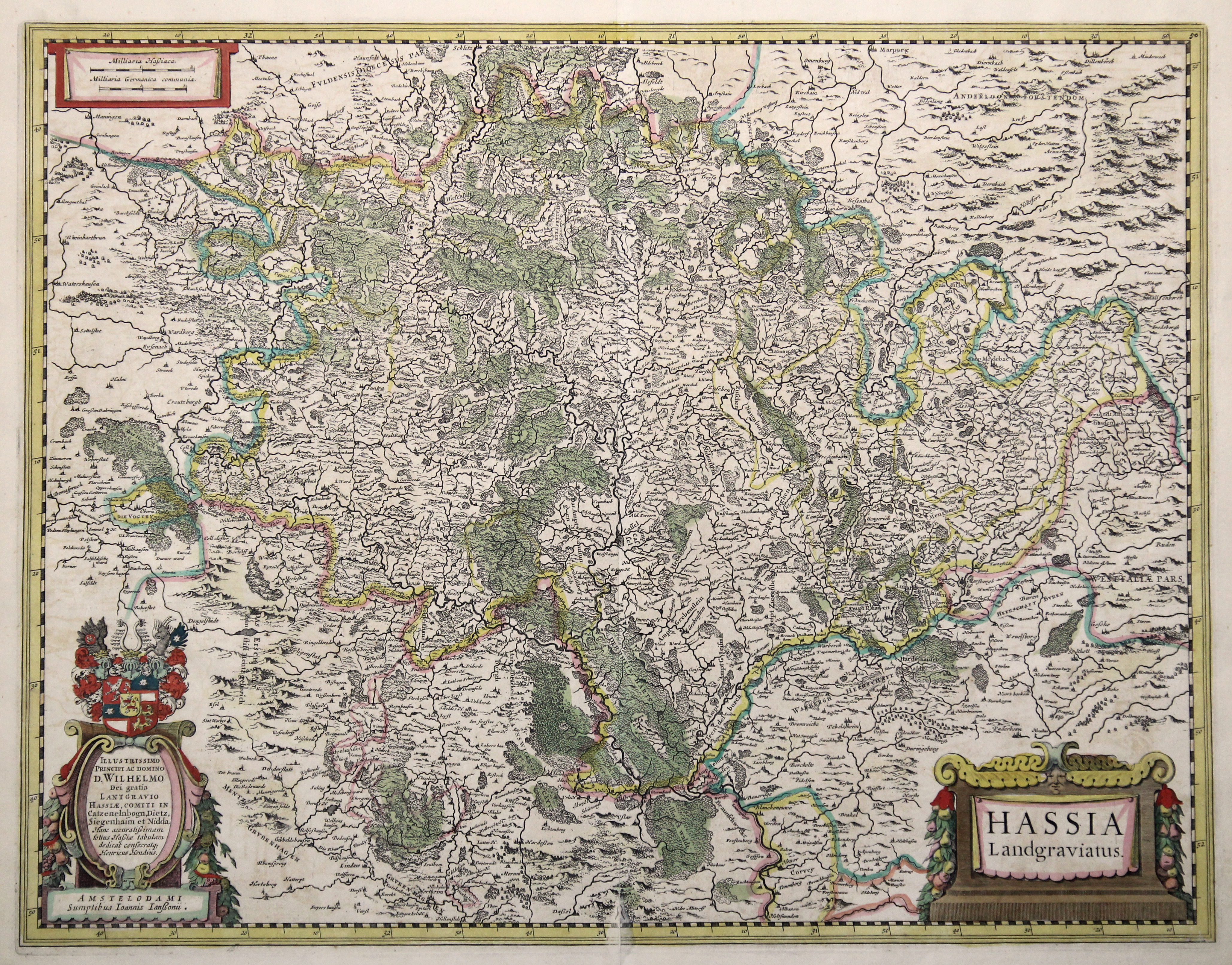 Kst.- Karte, b. de Wit n. H.: Nordhessen: