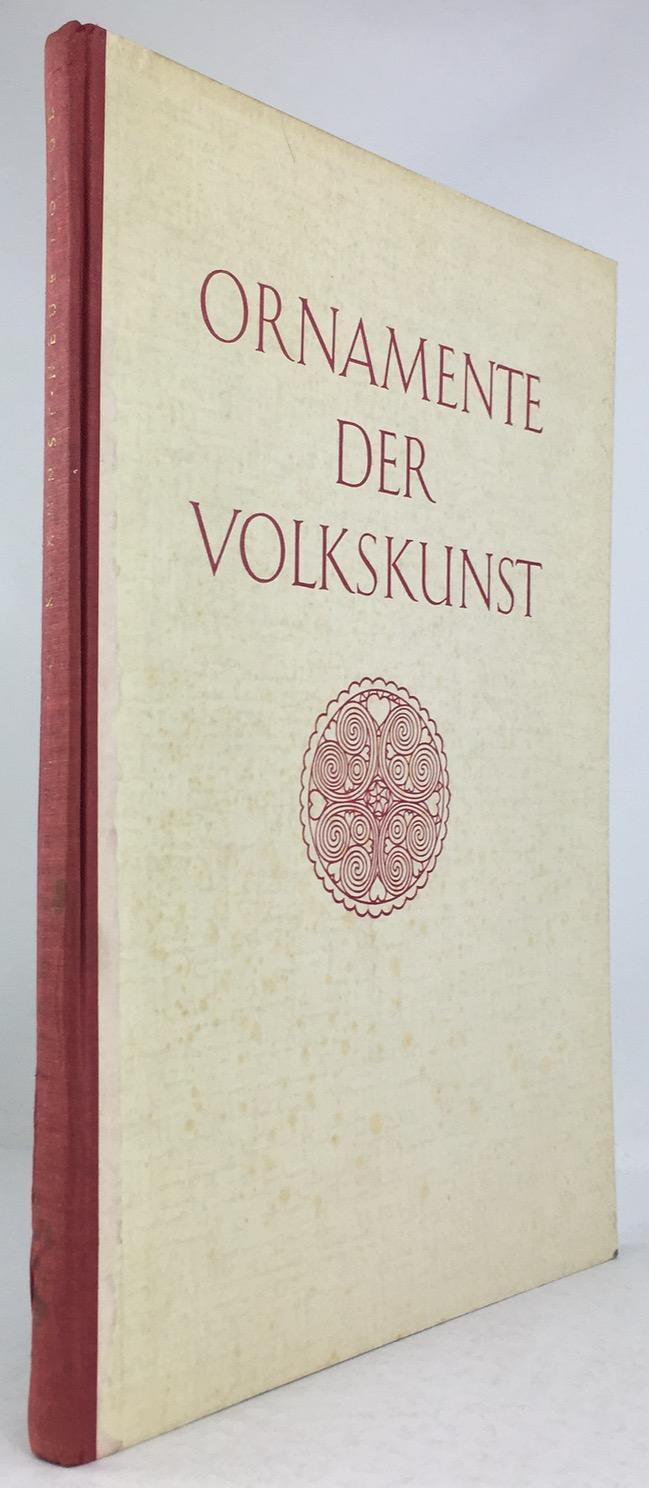 Ornamente der Volkskunst. Neue Folge. Keramik, Holz,: Bossert, H. Th.:
