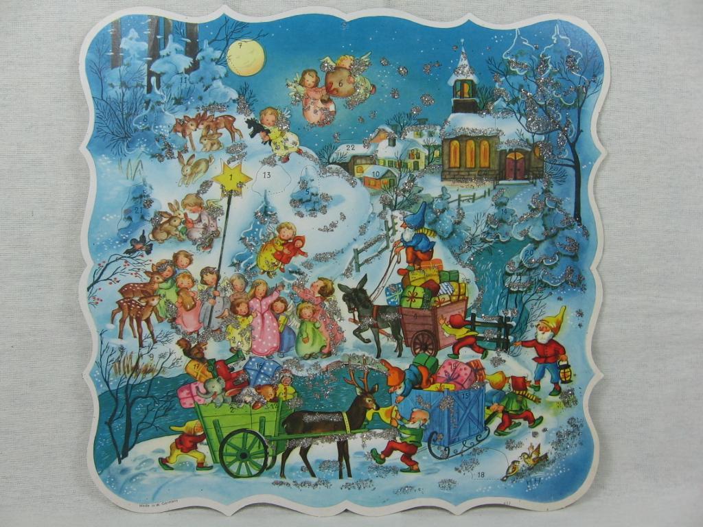 Adventskalender Schlittenzug.: Hoffmann, Hilde: