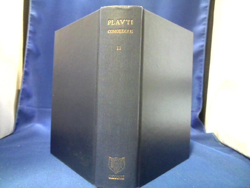T. Macci Plauti Comoediae recognovit brevique adnotatione: Plautus, T. Maccius
