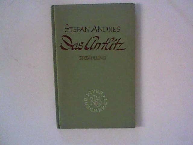 Das Antlitz: Andres, Stefan :