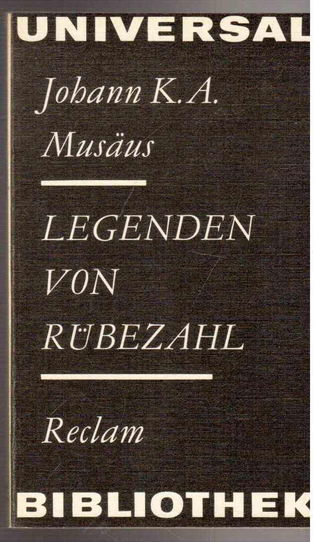 Legenden von Rübezahl: Johann August Musäus