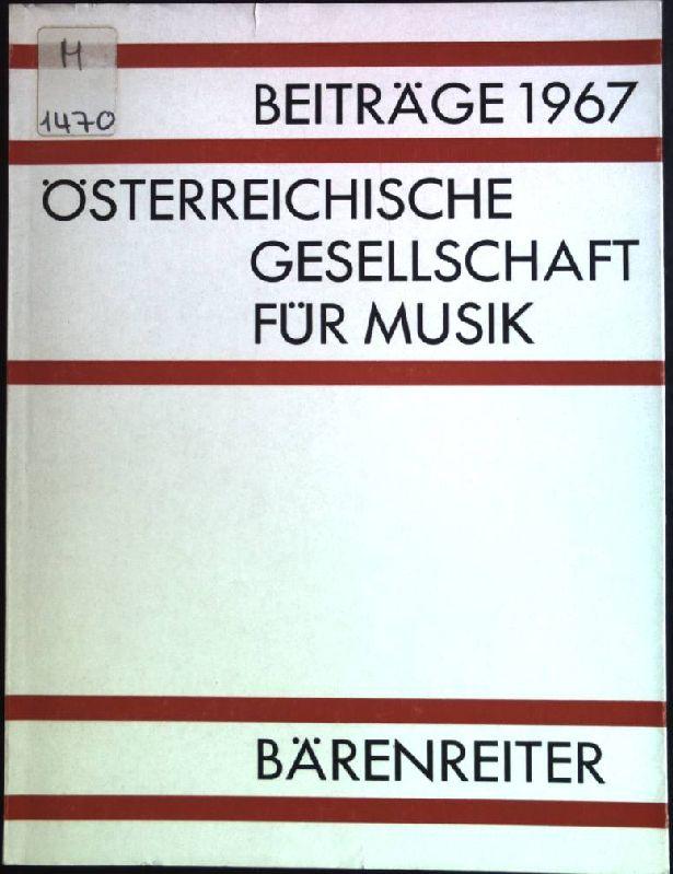 Der Komponist als Interpret seiner Werke, in: Krenek, Ernst: