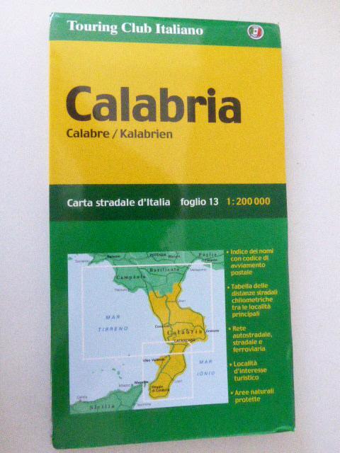 Calabria / Calbre / Kalabrien. Foglio 13.: Touring Club Italiano