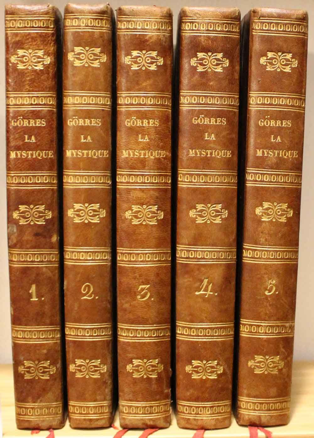 La Mystique divine, naturelle et diabolique ouvrage: Gorres Johann Joseph