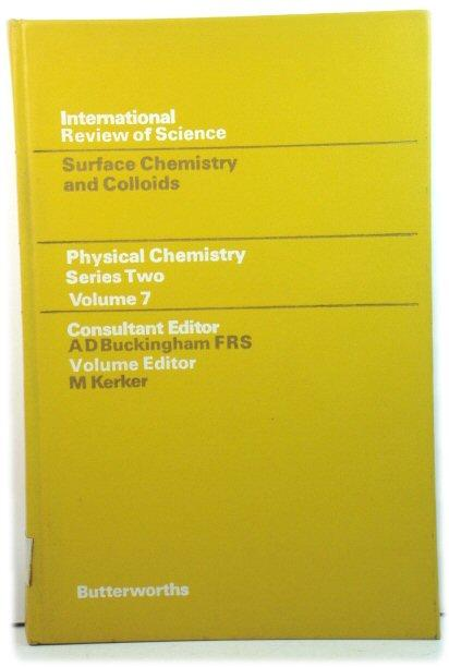 Physical Chemistry - Series Two: Surface Chemistry: Kerker, M.