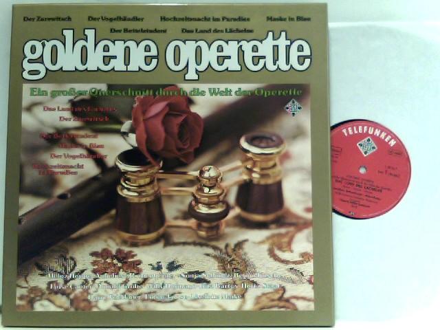 Goldene Operette - der Zarewitsch, Maske in: Various: