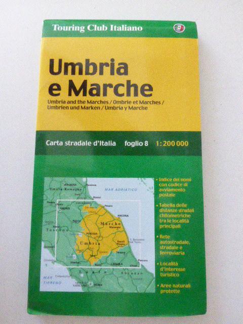 Umbria e Marche / Umbrien und Marken.: Touring Club Italiano
