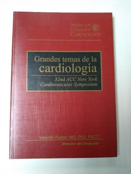 Grandes Temas De La Cardiologia De Valentin Fuster Normal Libros Ambigú