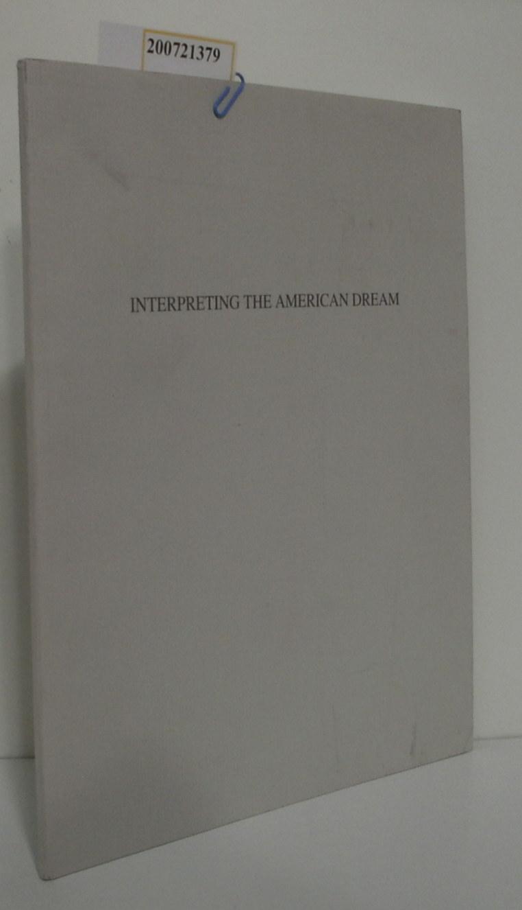 Interpreting the American Dream James Casebere -