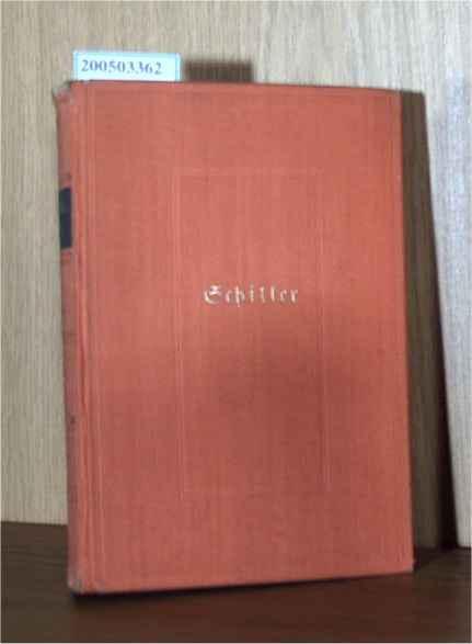 Schillers Werke in sechs Haupt- und vier: Paul Merker: