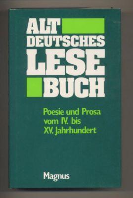Deutsches Lesebuch. Erster Theil. Altdeutsches Lesebuch. Poesie: Wackernagel, Wilhelm: