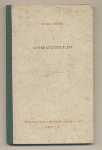 Rembrandtstudien.: Simmel, Georg: