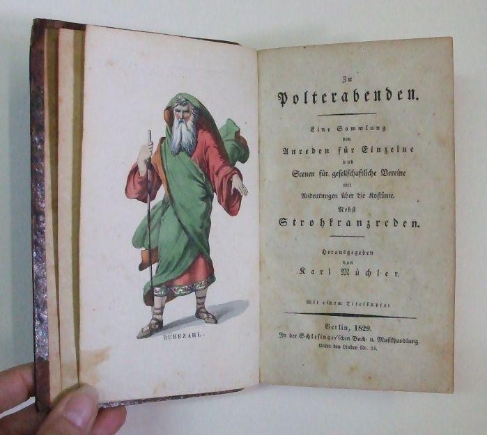 Zu Polterabenden. Eine Sammlung von Anreden für: Muechler, Karl (Hrsg.)
