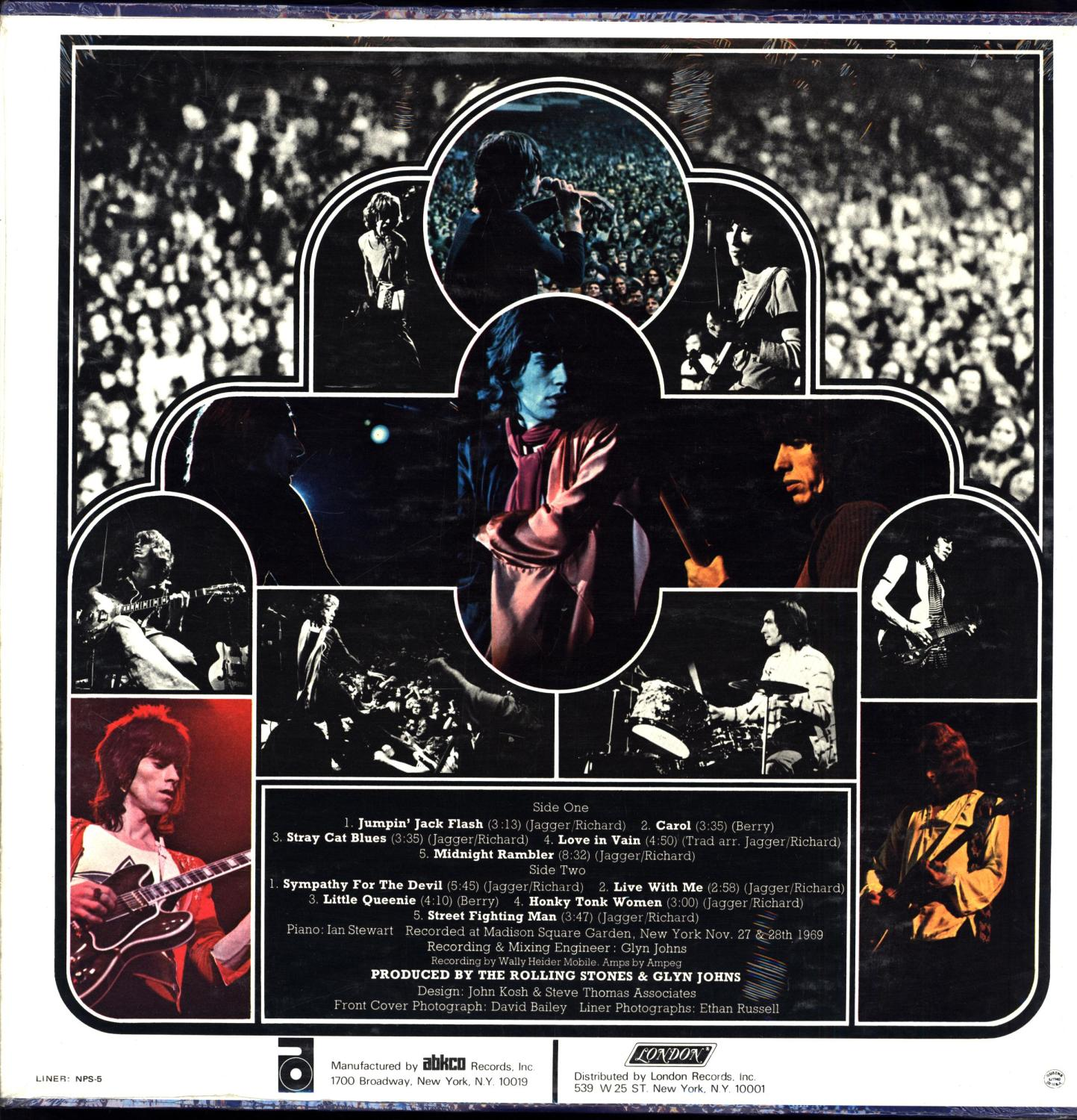 Get Yer Ya-Ya's Out!' (Your) / The Rolling Stones in Concert (SEALED VINYL  ROCK 'N ROLL LP) by The Rolling Stones: New Hardcover (1970) | Cat's  Curiosities