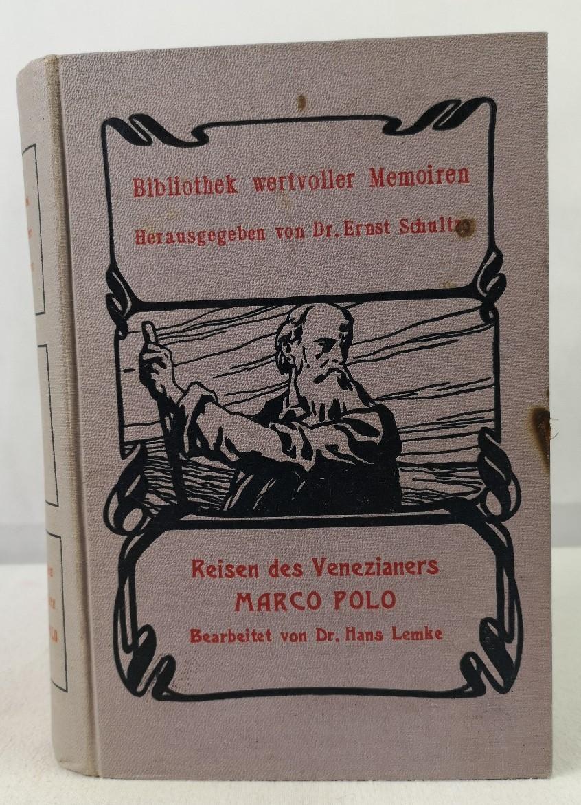 Die Reisen des Venezianers Marco Polo im: Lemke, Hans und
