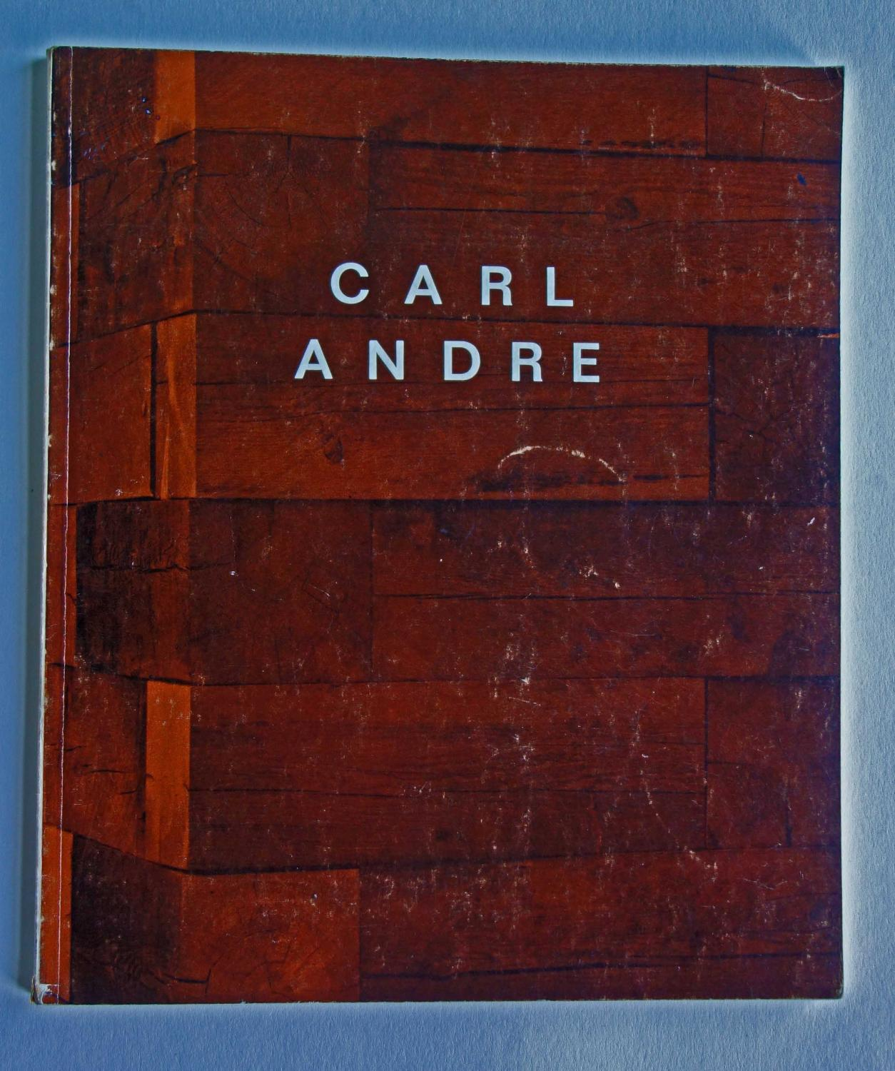 Carl Andre.: Carl Andre
