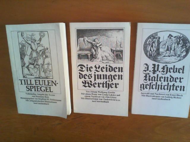 1) Herman Bote: Till Eulenspiegel. Vollständige Ausgabe: Bote, Hermann, Johann